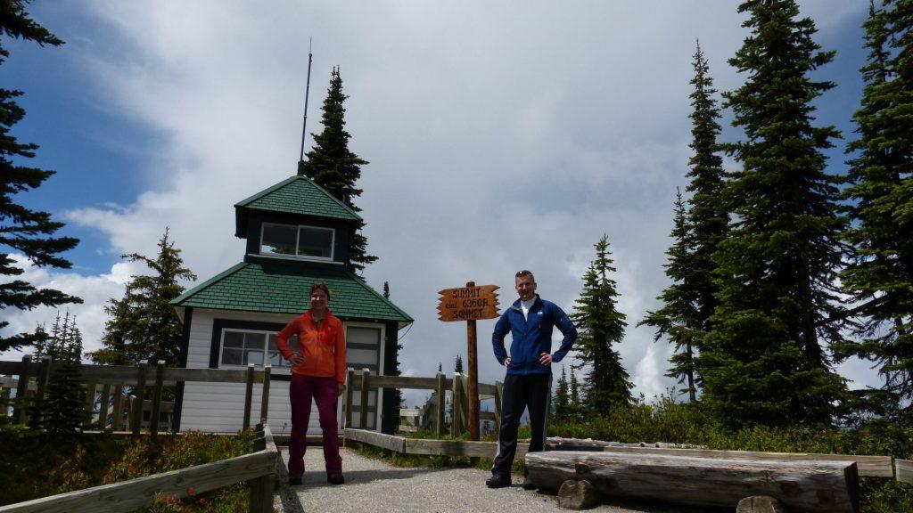 Mount Revelstoke Gipfel
