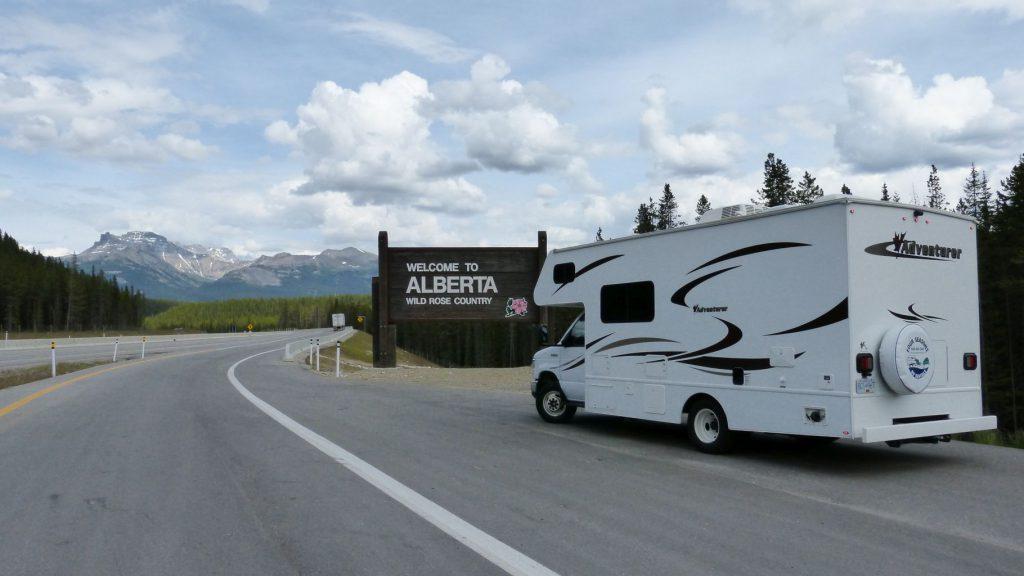 Auf dem Weg nach Alberta