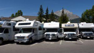 Parken in Banff