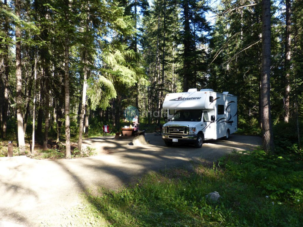 Mount Robson River Campground