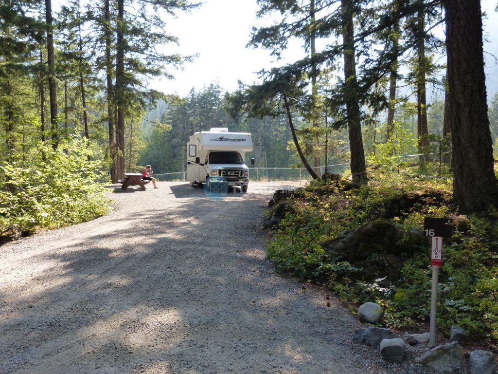 Nairn Falls Provincial Park Campground