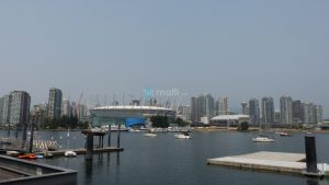 BC Place und Rogers Arena