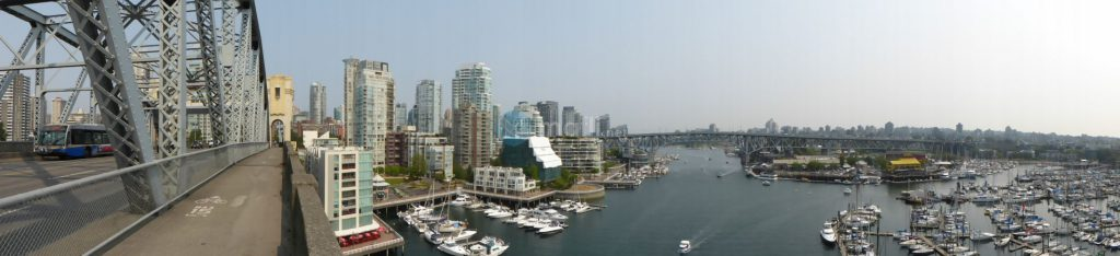 Burrard Street Bridge Panorama