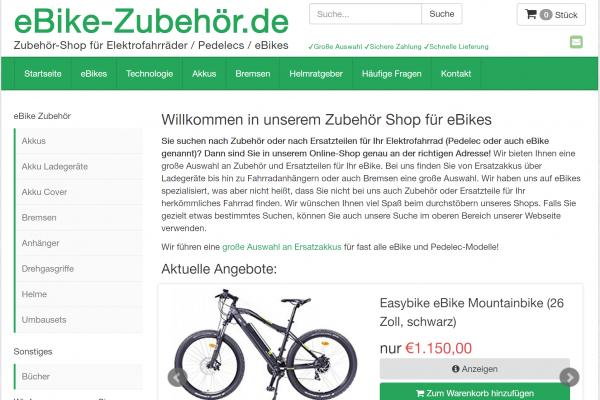 eBike-Zubehör.de / 99,- EUR