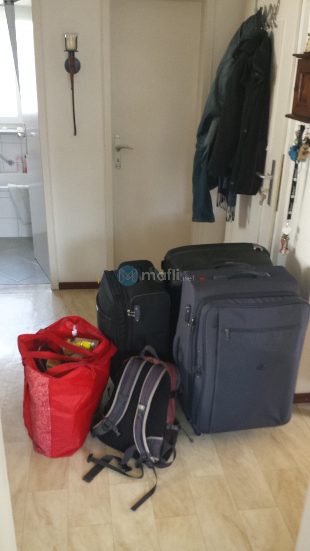 Unser komplettes Reisegepäck