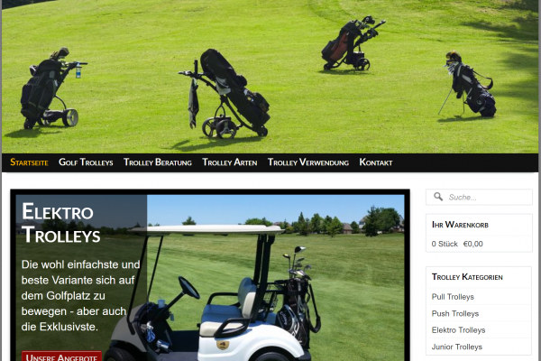GolfTrolleyShop24.de / 99,- EUR