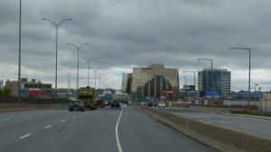 Fahrt durch Montreal