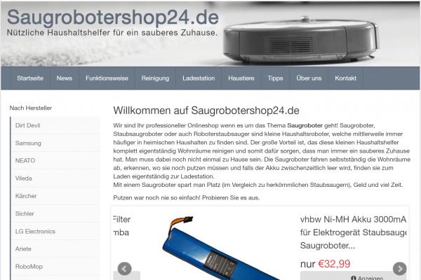 Saugrobotershop24.de / 189,- EUR