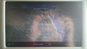 Anflug auf Jeddah