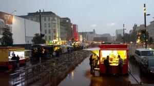 Hamburg Reeperbahn bei Regen