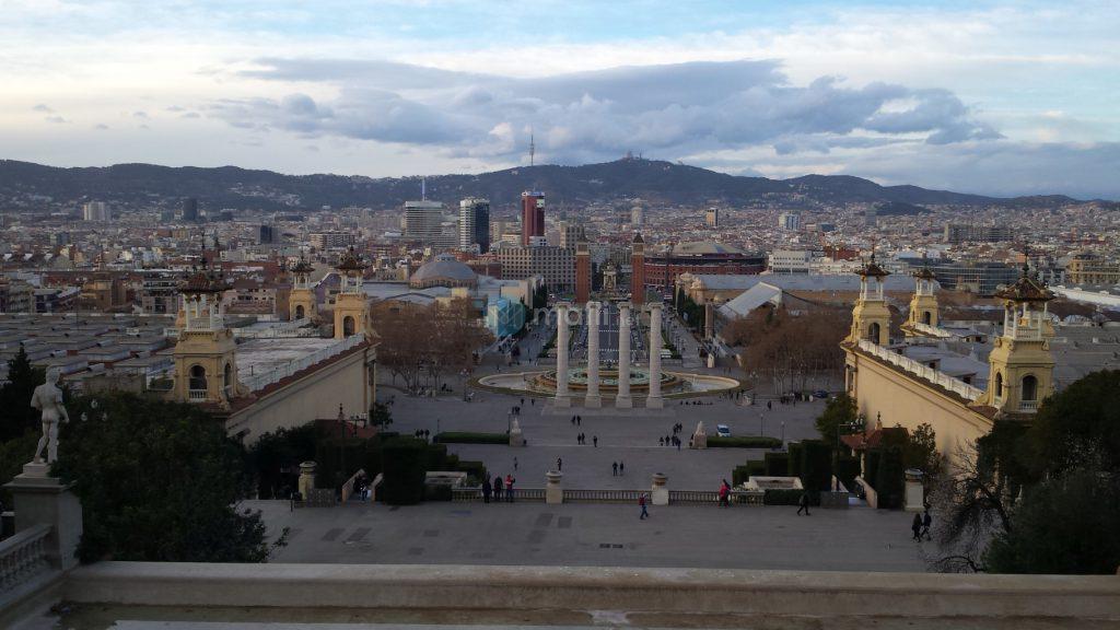 Barcelona vom MNAC