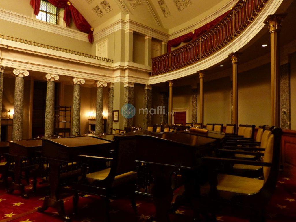 Capitol, Alte Senatskammer