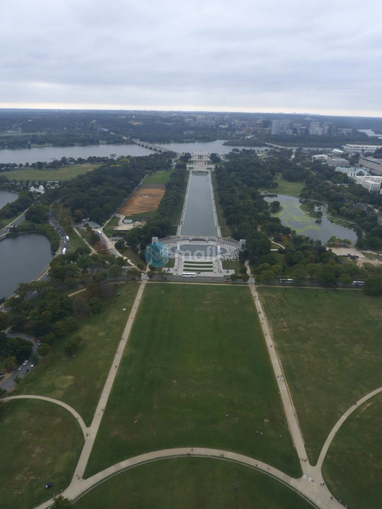 Washington Monument, Ausblick