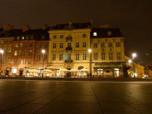 Warschau, Hotelansicht
