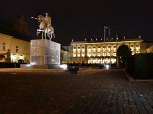 Warschau, Präsidentenpalast