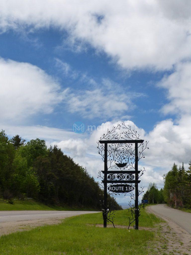 Route 138 Schild