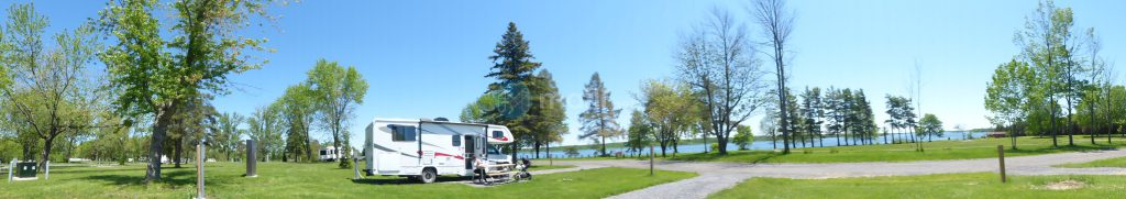 Farran Park Campground Panorama