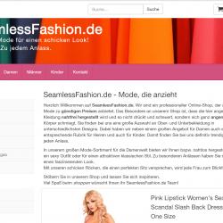 seamlessfashion.de Affiliate Shop