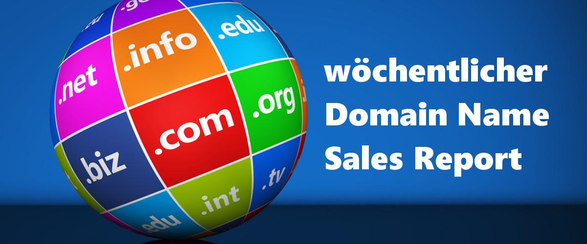 KW48: DN Sales Report: Erneut rocken 3-stellige .COM Namen